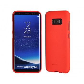 Mercury Soft Feeling TPU Matt Samsung G955 Galaxy S8 Plus κόκκινη