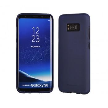 Mercury Soft Feeling Θήκη TPU Matt  Samsung J530 Galaxy J5 (2017) midinght μπλε