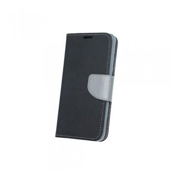 Θήκη Smart Fancy για Huawei P8 Lite μαύρη/ατσάλι