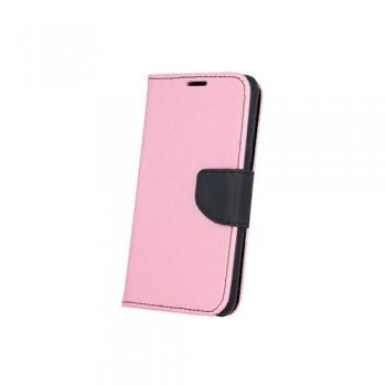 Θήκη Smart Fancy για Huawei P8 Lite ροζ/μαύρη