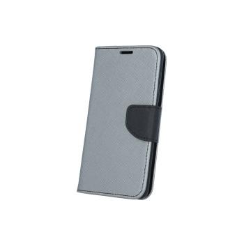 Θήκη Smart Fancy για Huawei P10 Lite ατσάλι/μαύρη
