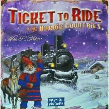 Επιτραπέζιο Ticket To Ride Nordic Countries (Στα Αγγλικά)