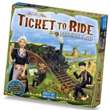 Επιτραπέζιο Ticket To Ride Nederland (Επέκταση Στα Αγγλικά)