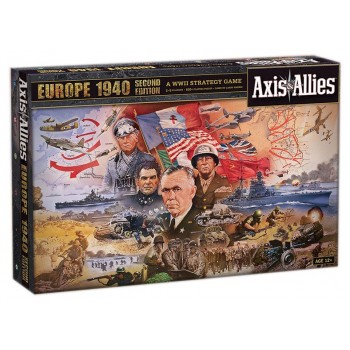 Επιτραπέζιο Axis & Allies Europe 1940 Second Edition (Στα Αγγλικά)