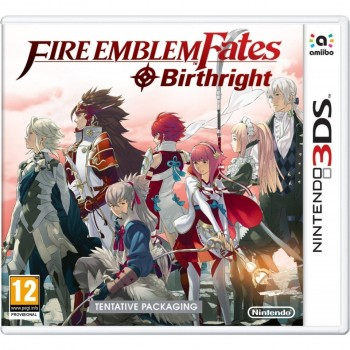3DS Fire Emblem Fates Birthright
