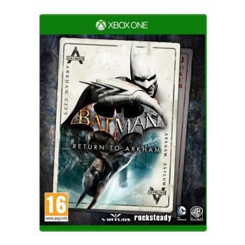 Xbox One Batman Return To Arkham (Arkham Asylum & Arkham City)