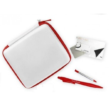 Ardistel 2D-Touch Pack White-Red Θήκη & Stylus για 2DS