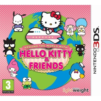 3DS Around The World With Hello Kitty & Friends