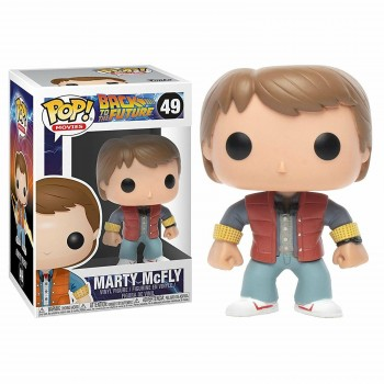 Funko Pop! Movies Back To The Future - Marty Mc Fly #49 Vinyl Figure