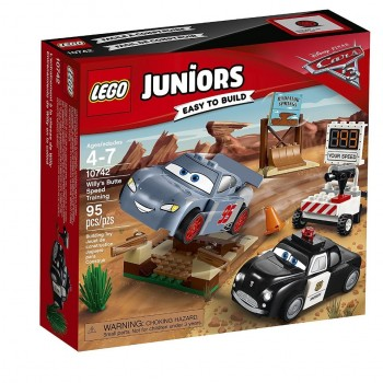 Lego Juniors 10742 Cars 3 Willy's Butte Speed Training