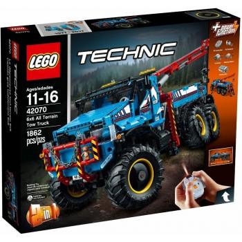 Lego Technic 42070 6x6 All Terrain Tow Truck
