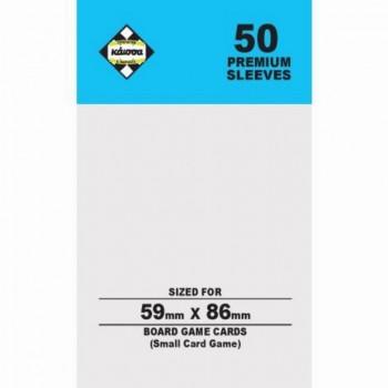 50 Θήκες Για Κάρτες Sleeves Μέγεθος Small Card Game 59mm X 86mm