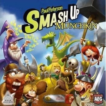 Επιτραπέζιο Smash Up Munchkin (Στα Αγγλικά)