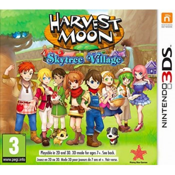 3DS Harvest Moon Skytree Village