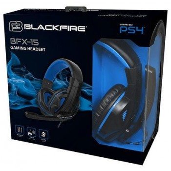 Ardistel Blackfire BFX-15B Pro Stereo Gaming Headset For PS4 Controller