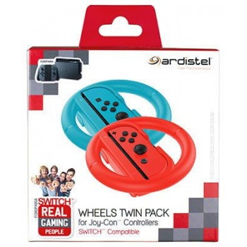 Ardistel Joy-Con Wheels Twin Pack for Nintendo Switch