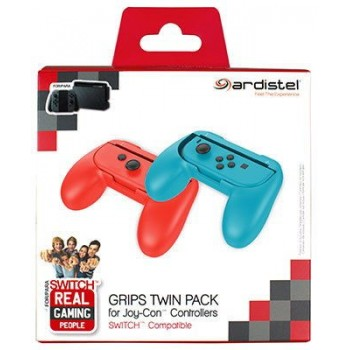 Ardistel Grips Twin Pack For Nintendo Switch Joy-Con Controllers