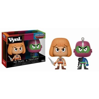 Funko Vynl. Masters Of The Universe  - He-Man + Trap Jaw Vinyl Collectibles Figures