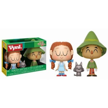 Funko Vynl. Wizard Of Oz - Dorothy With Toto + The Scarecrow Vinyl Collectibles Figures