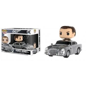Funko Pop! Rides: 007 James Bond - Sean Connery with Aston Martin DB5 #44 Vinyl Figure