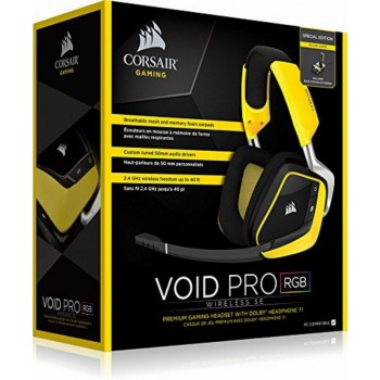 Corsair Headset Void Pro Wireless Se Black / Yellow CA-9011150-EU