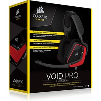 Corsair Headset Void Pro Red CA-9011157-EU