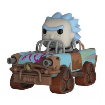 Funko POP! Rides: Rick and Morty - Mad Max Rick #37 Vinyl Figure