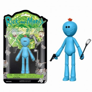Funko Fully Posable Action Figure: Rick And Morty - Mr. Meeseeks