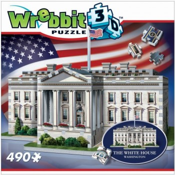 Wrebbit Παζλ 3D 490τεμ. (W3D-1007) The White House