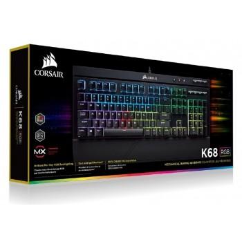 Corsair Keyboard k68 rgb mx red ch-9102010-gr