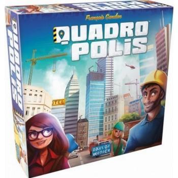 Επιτραπέζιο Quadropolis (Στα Αγγλικά)
