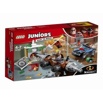Lego Juniors 10760 Incredibles 2 Underminer's Bank Heist