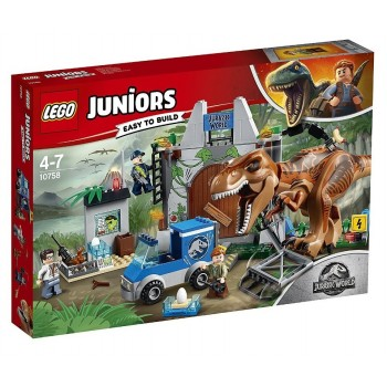 Lego Juniors 10758 Jurassic World T.Rex Breakout