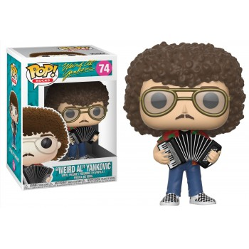 "Funko POP! Rocks: ""Weird Al"" Yankovic #74 Vinyl Figure"