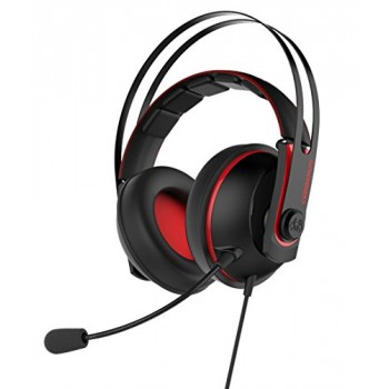 Asus Cerberus V2.0 Gaming Headset Black/Red PC-Mobile-PS4  (90YH015R-B1UA00)