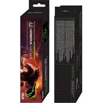 Asus Cerberus Mat Mini Green Gaming Mousepad 250mmx210mm (90YH01C4-BDUA00)