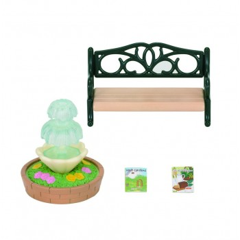 Sylvanian Families - Bench & Fountain 4535