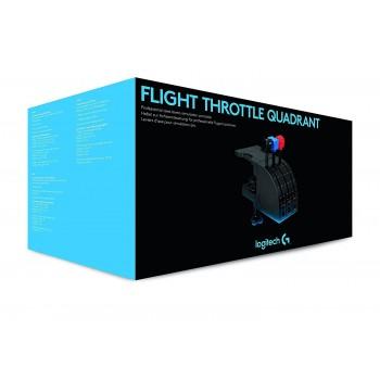 Logitech Saitek Throttle Quadrant With 3 Axis Levers (945-000015)