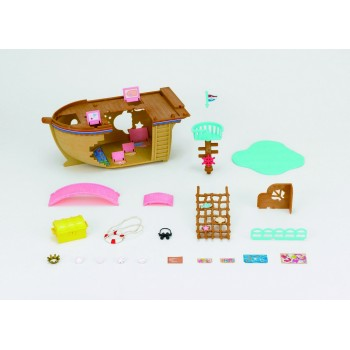 Sylvanian Families Adventure Treasure Ship 5210