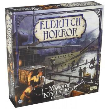 Επιτραπέζιο Eldritch Horror Mask Of Nyarlathotep Expansion (Επέκταση Στα Αγγλικά)