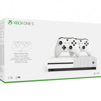 Console Microsoft Xbox One S 1TB + 2nd Controller Bundle