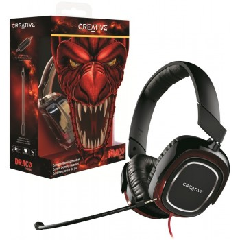 Creative Sound Blaster Draco HS880 Extreme Gaming Headset Jack 3.5mm (51EF0700AA001)
