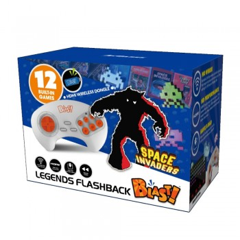 At Games Console Space Invaders Flashback Blast!