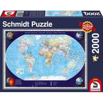 Schmidt 57041 Παζλ 2000τεμ. Η Γη μας