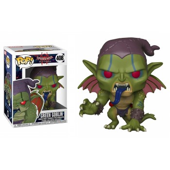 Funko Pop! Marvel Spider-Man Into The Spider-Verse: Green Goblin #408 Vinyl Bobble-Head Figure