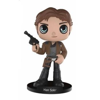 Funko Wobblers Star Wars Han Solo - Han Solo Bobble-Head Figure