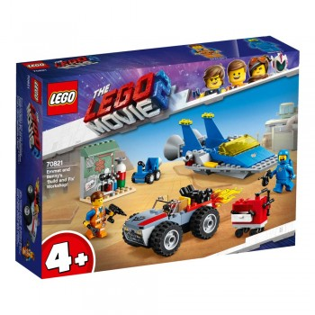 Lego The Lego Movie 2 70821 Emmet and Benny's 'Build and Fix' Worksh