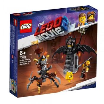 Lego The Lego Movie 2 70836 Battle-Ready Batman™ and MetalBeard
