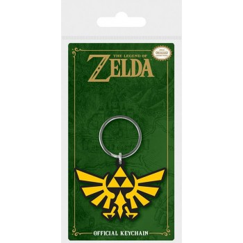 Pyramid Nintendo - the Legend of Zelda Triforce Vinyl Keychain (Rk38700c)