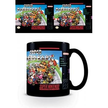 Pyramid Nintendo - Snes Super Mario Kart Ceramic mug (Mg25006c)